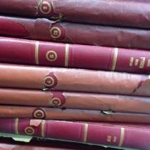 Talmud set printed by Shulsinger Bros